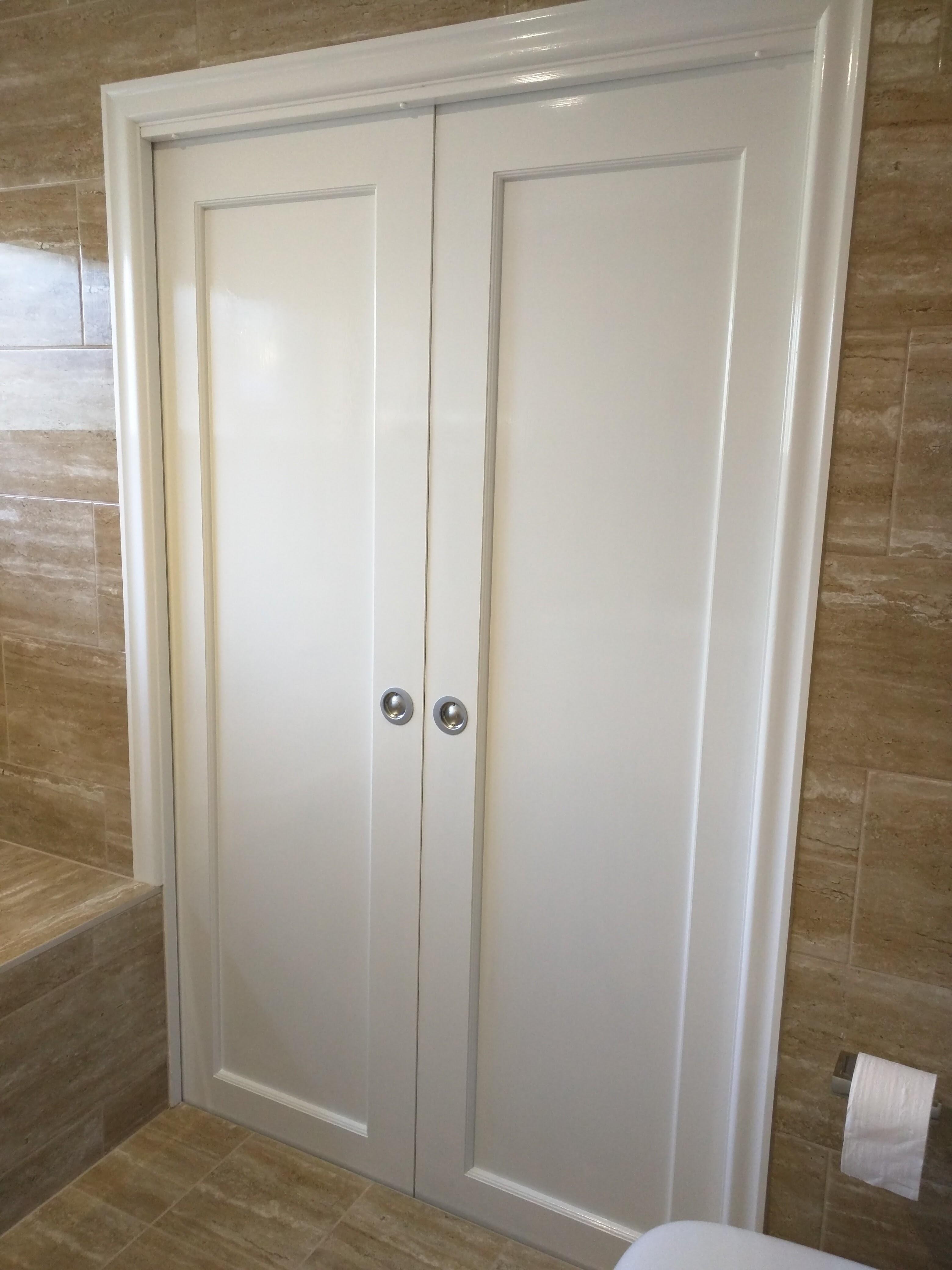 Sliding Doors for Garage Renovation Bathroom