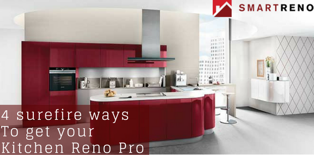 4 Fantastic Reasons to Opt for Pro Kitchen Renovators
