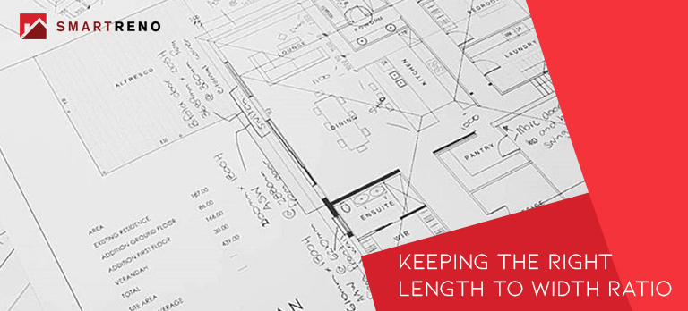 Keeping the Right Length to Width Ratio